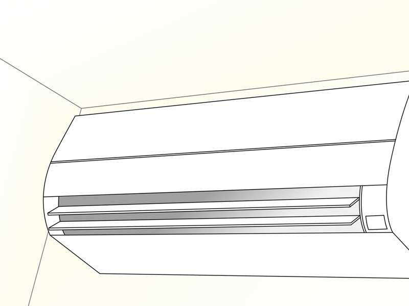 エアコンのイラスト