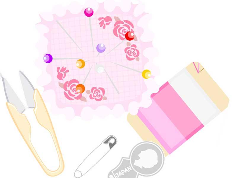 手作り用の裁縫セット
