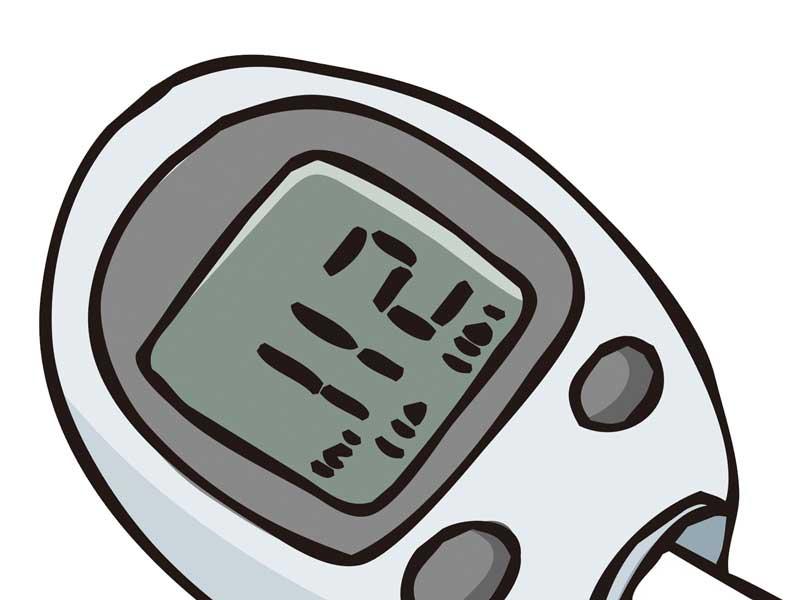 血糖値計測器