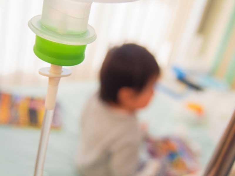 入院をしている子供