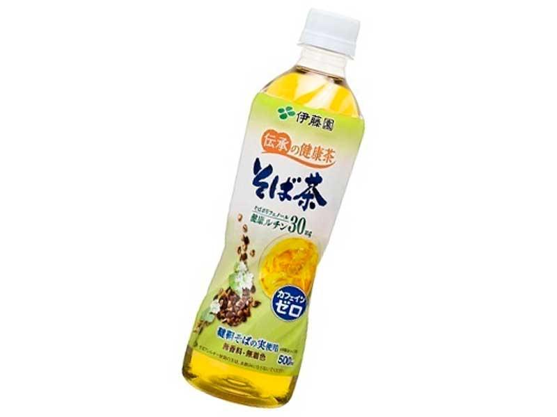 伝承の健康茶 そば茶 PET