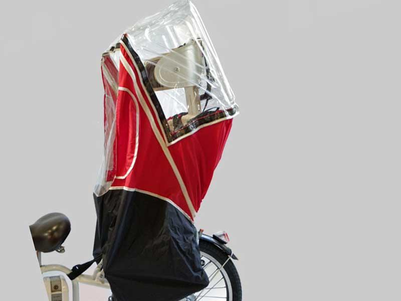 自転車チャイルドシート レインカバーAIR