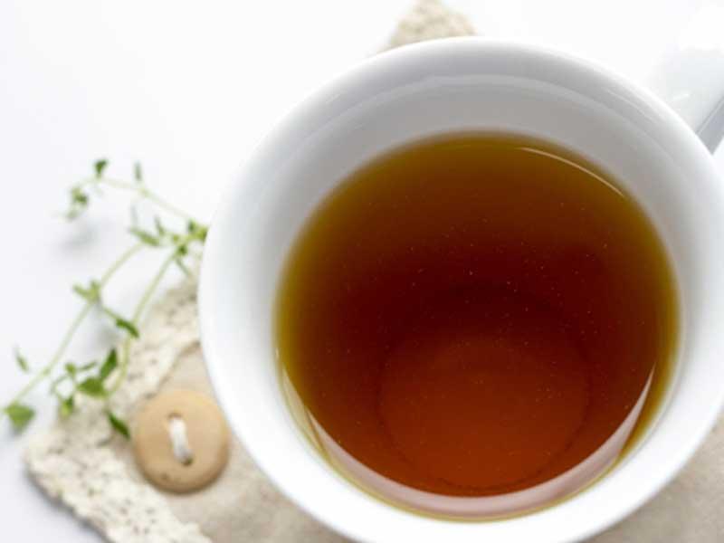 癒される暖かいお茶