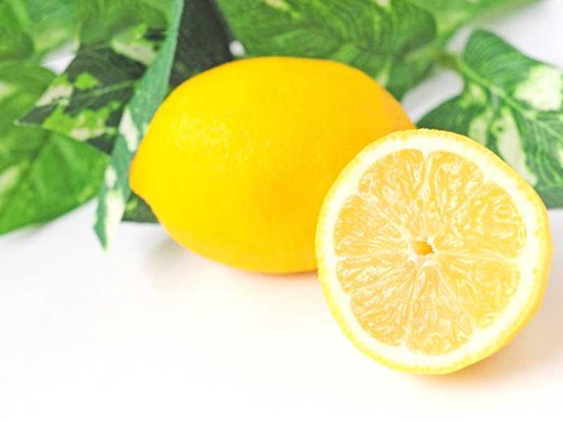 酸化作用があるレモン
