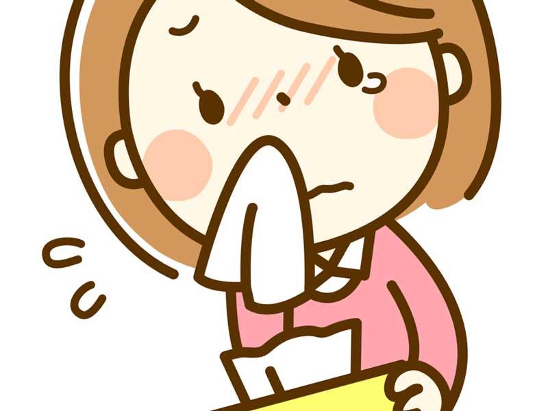 泣いているママのイラスト