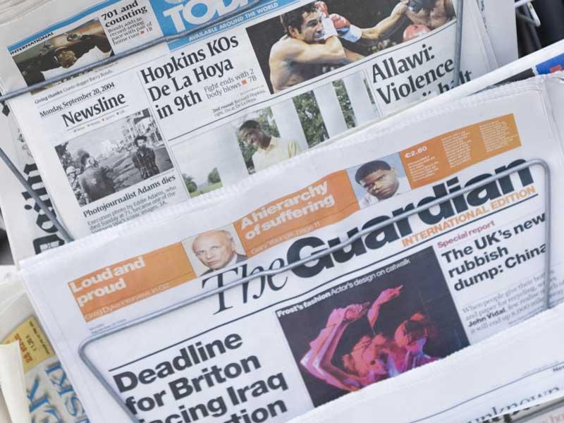 写真付き新聞