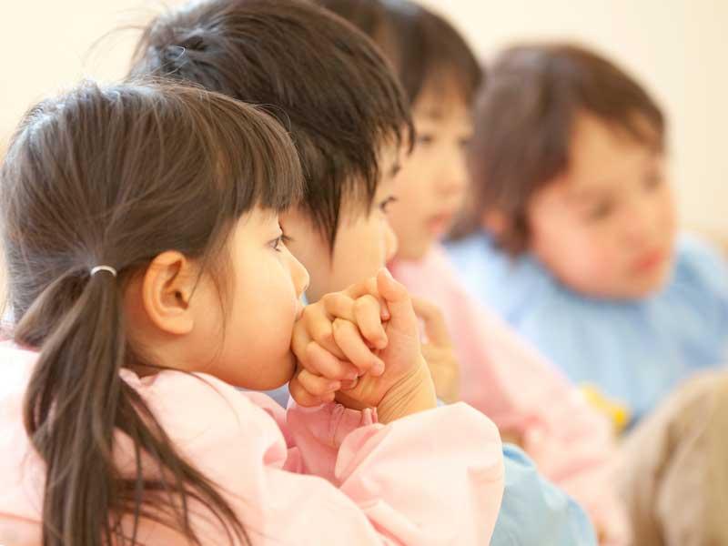 幼稚園の子供達