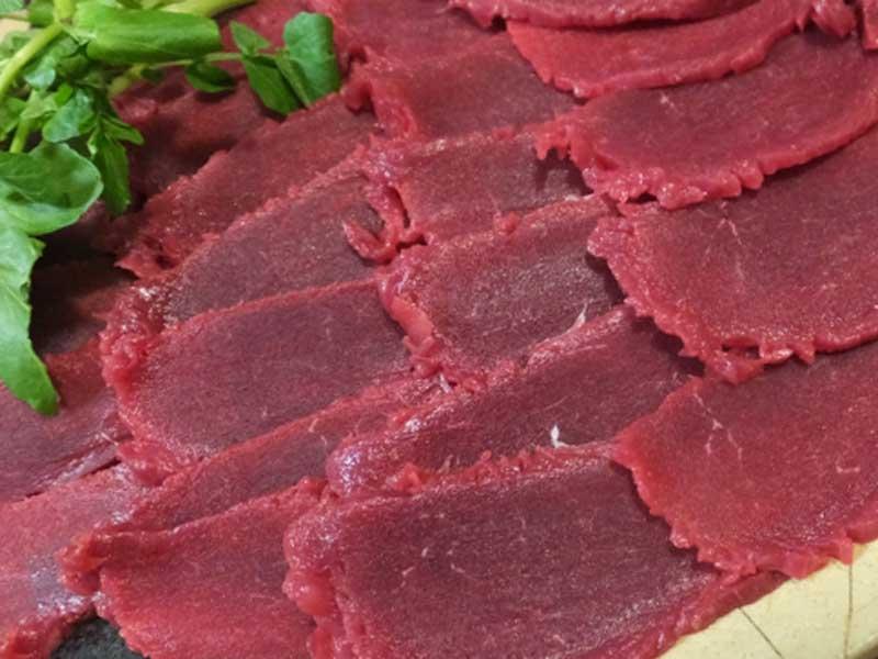 非加熱の生肉