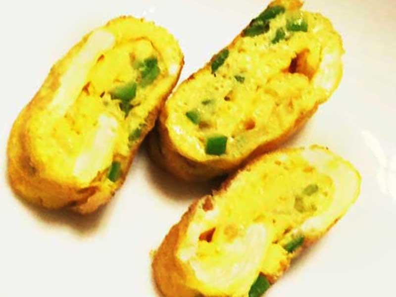 オクラ入り卵焼きのレシピ