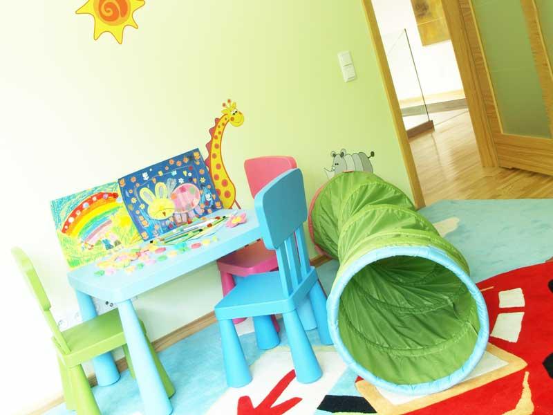 児童養護施設の遊び部屋
