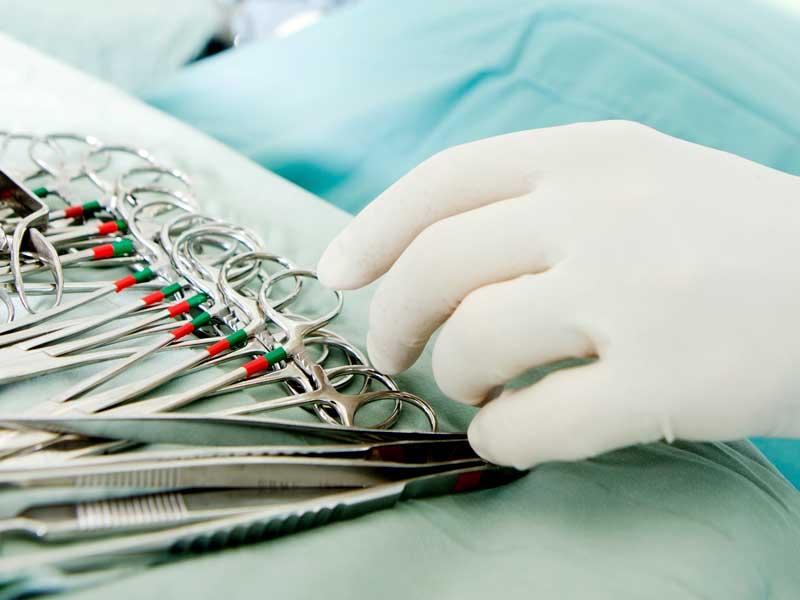 手術用の道具