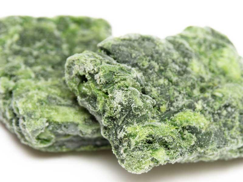 冷凍葉物の野菜
