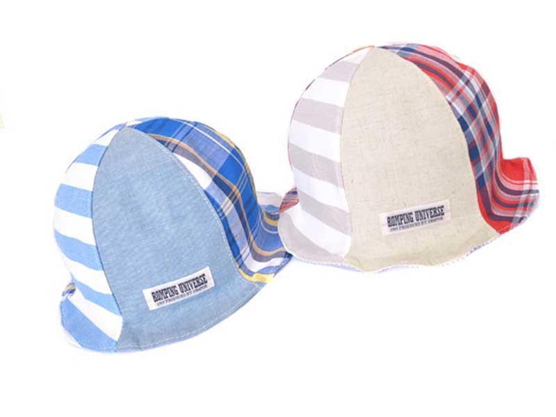 ベビー:Minパッチワークチューリップハット / ベビー ハット 帽子 日よけ帽子