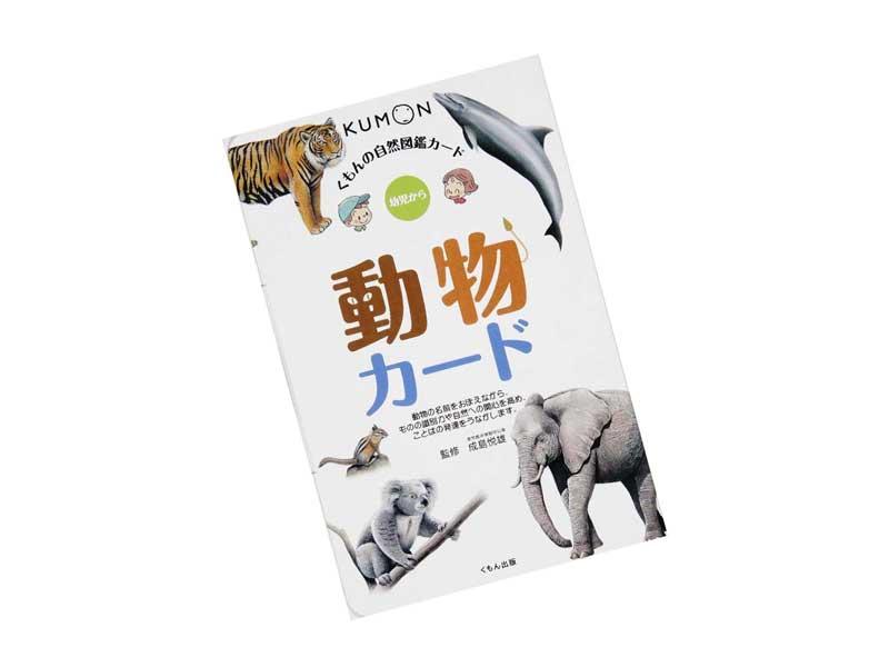 自然図鑑カード 動物カード