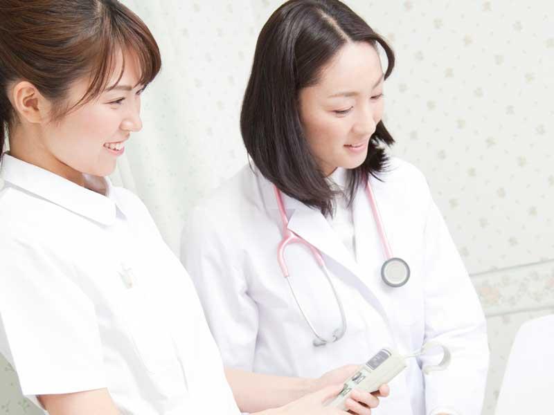 医師と看護婦さん
