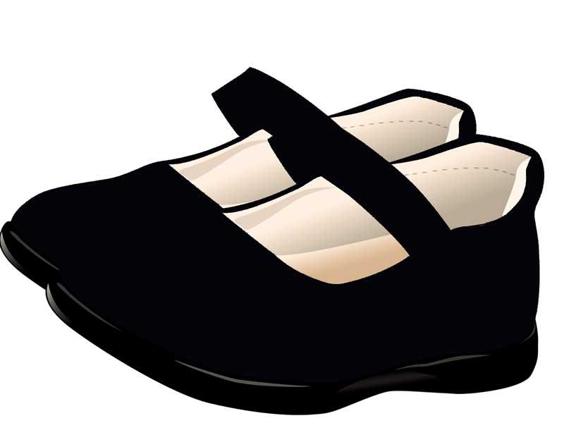 歩きやすいフォーマルな靴のイラスト