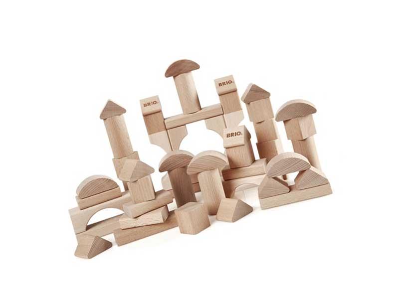 積み木おもちゃのつみき50ピース