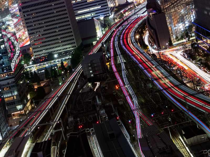 日本の高度経済成長をイメージ
