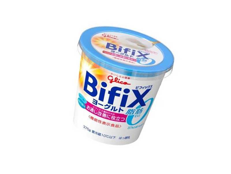 朝食BifiXヨーグルト脂肪ゼロ