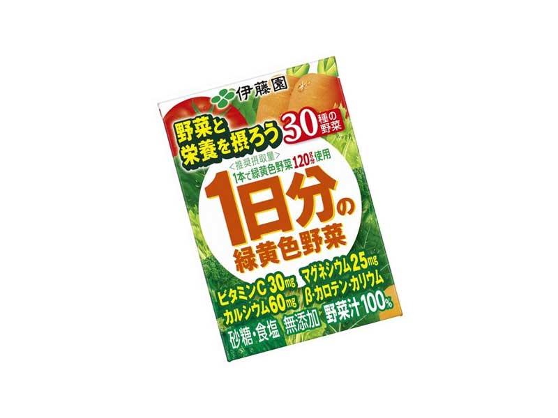 1日分の緑黄色野菜(野菜ジュース)
