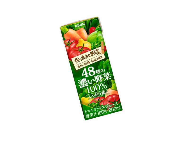 キリン無添加野菜48種の濃い野菜100%(野菜ジュース)