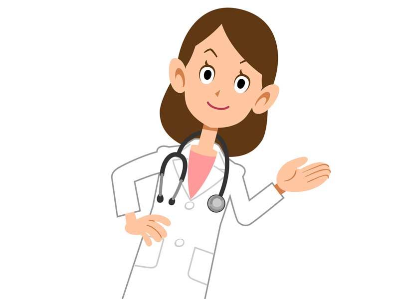 産婦人科医のイラスト