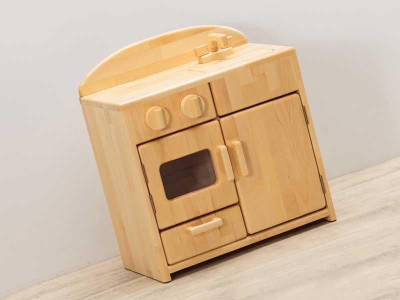Wood workerのままごとキッチンロー・タイプ