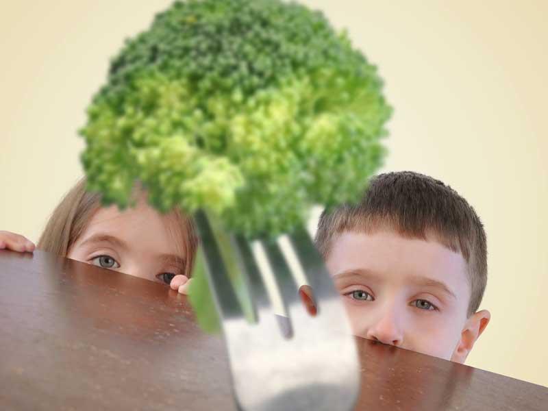 野菜が嫌いな子供達