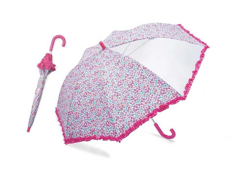 ベルメゾンの通学に透明子供傘