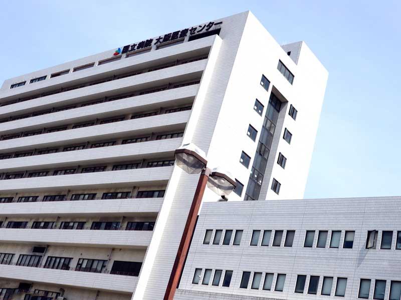 国立病院のビル
