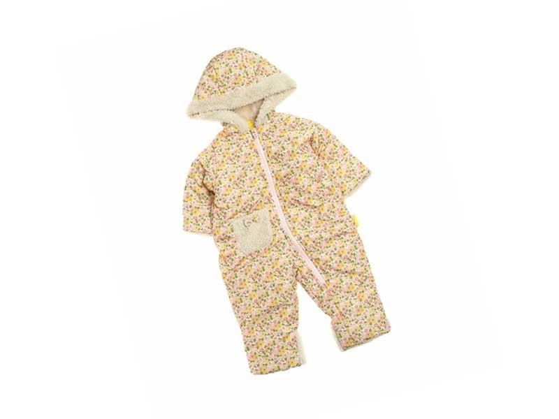 baby girl中綿ジャンプスーツ