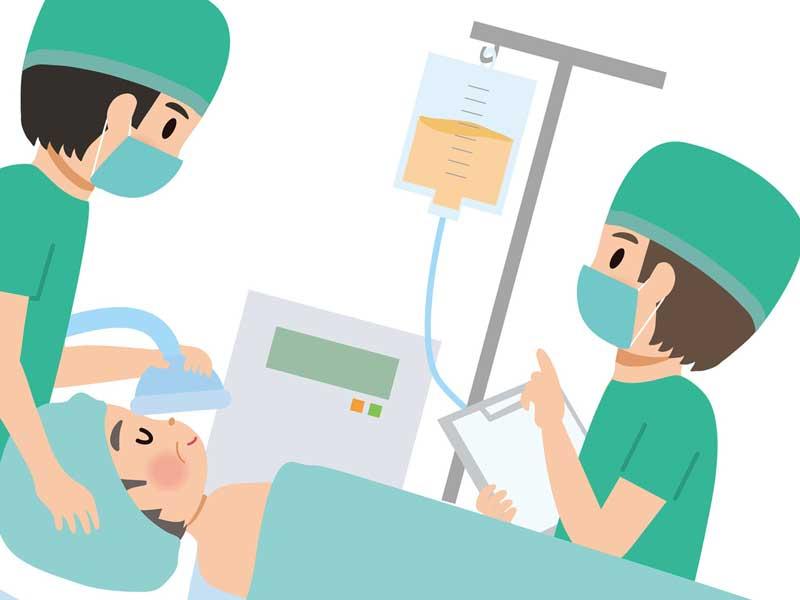 手術のイラスト