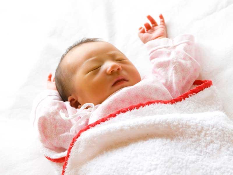 早生まれの赤ちゃん