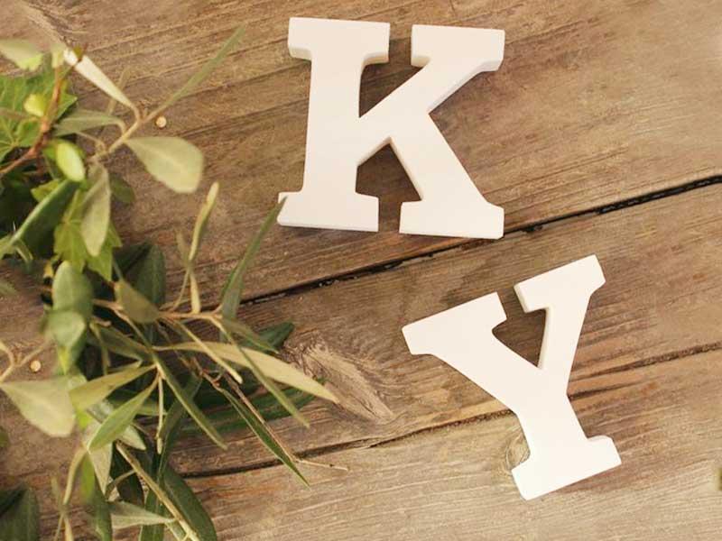 はーとぼっくす工房の木製アルファベット
