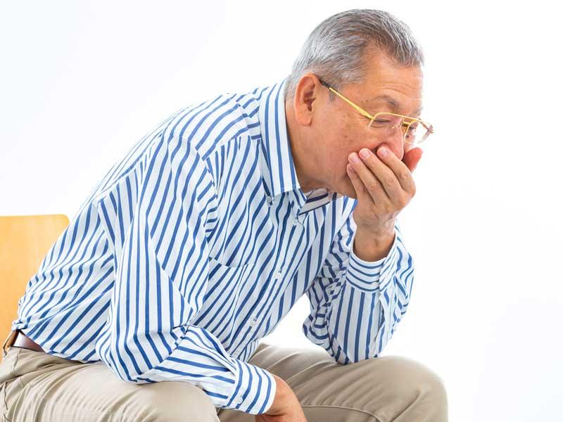 逆流性食道炎の高齢者