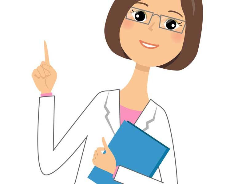 女医のイラスト
