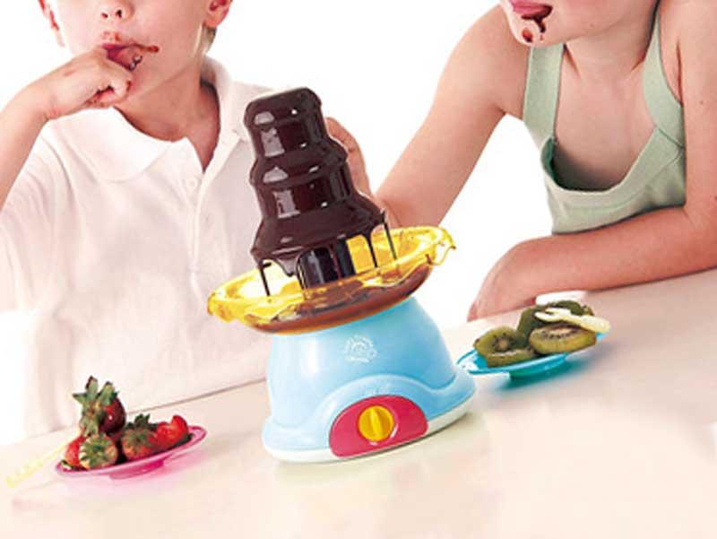 おうちでチョコレートファウンテンパーティー