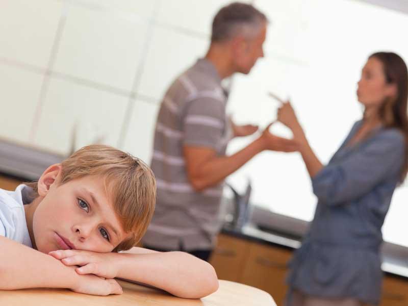 両親が不仲の家庭