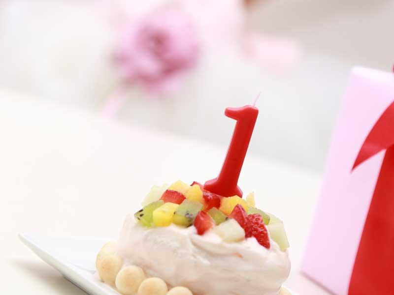 子供の誕生日祝い