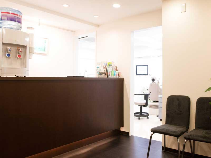 歯科の受付