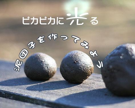 泥団子の作り方~子供と簡単にピカピカの泥団子を作るコツ