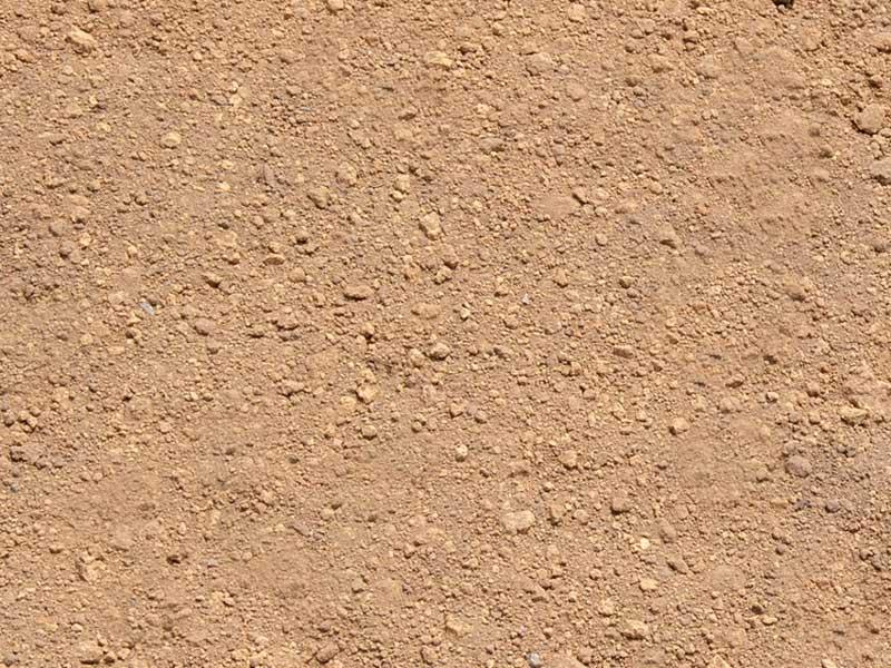 サラサラの土