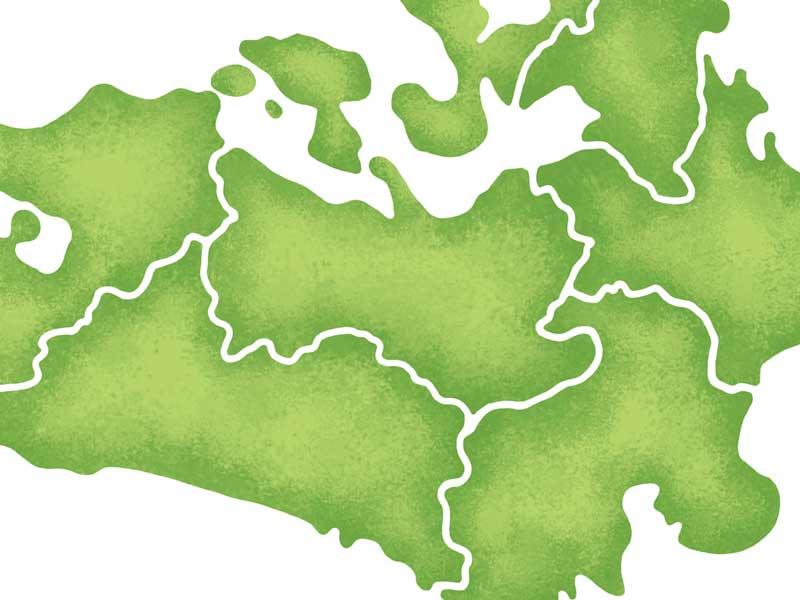 地図のイラスト