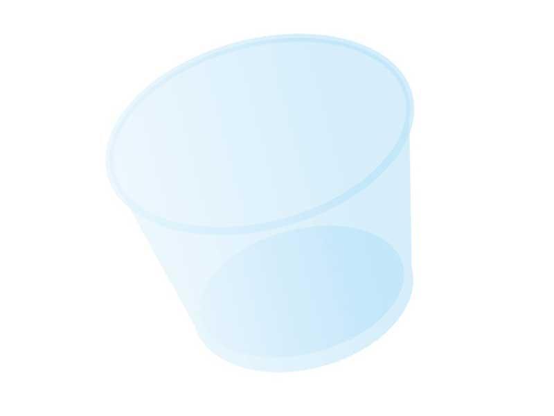 プリンカップのイラスト