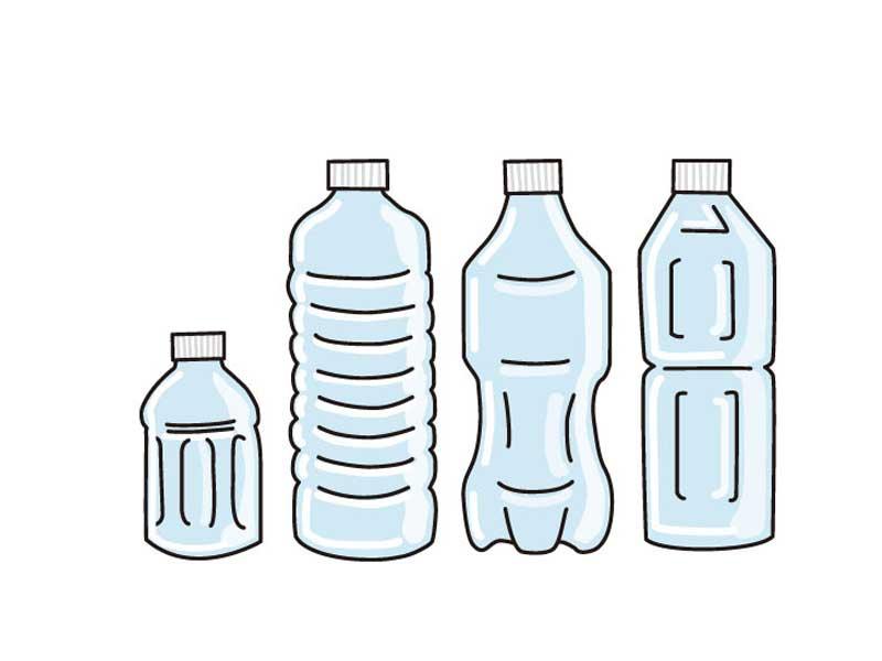 ペットボトルのイラスト