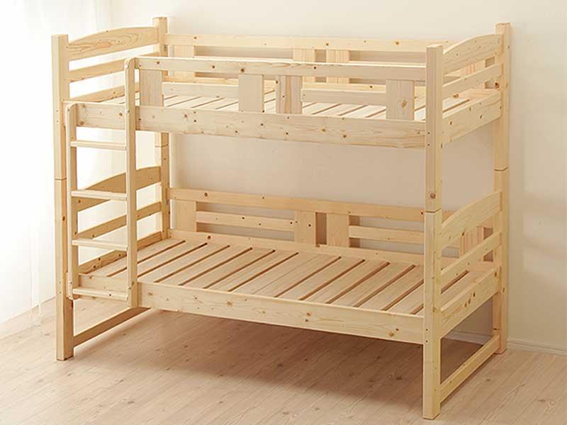 家具の里の子供2段ベッド北欧風
