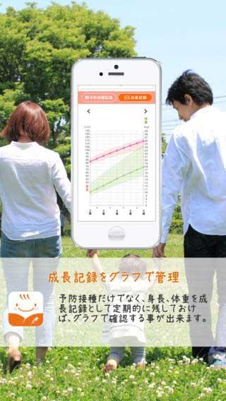 予防接種ナビ(アプリ画面キャプチャ)