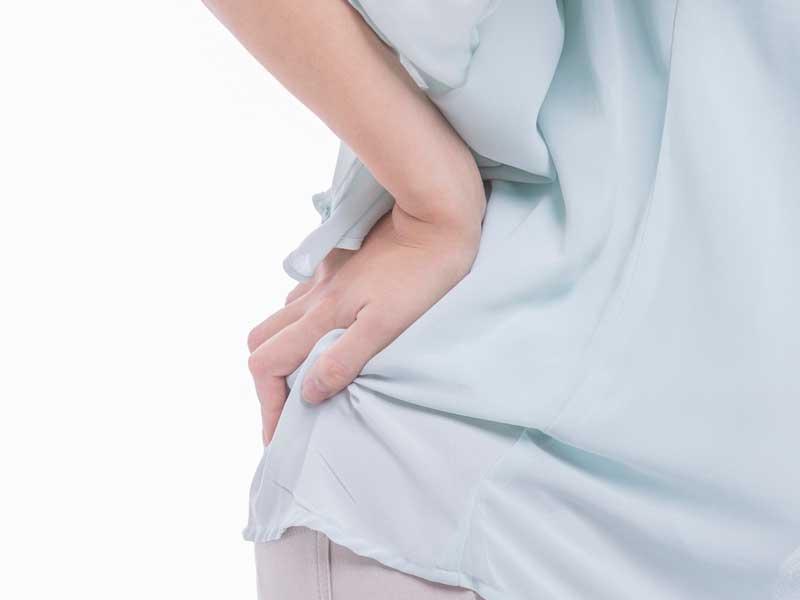腰痛の産後ママ