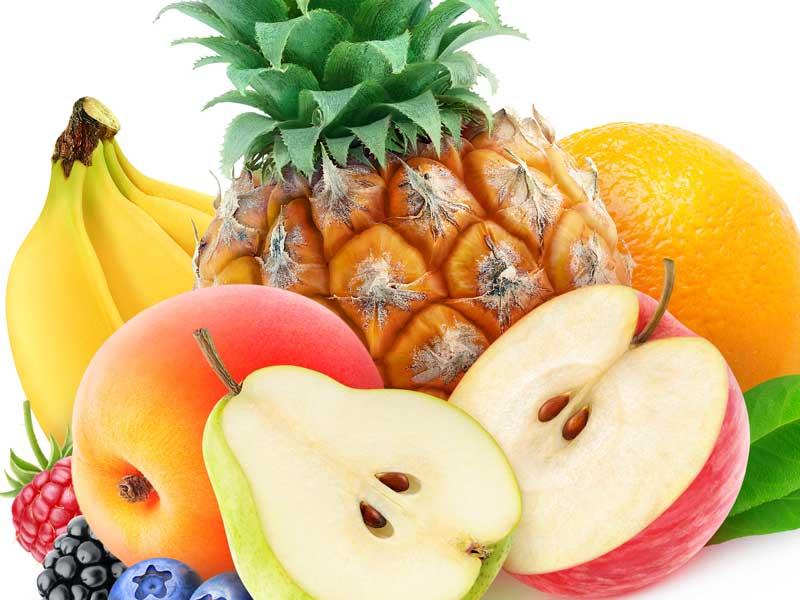 様々な果物のイラスト