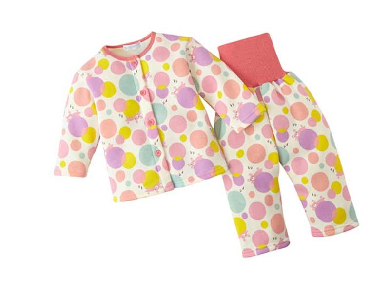 裏起毛腹巻付パジャマ